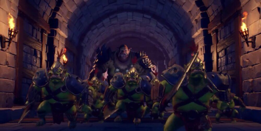 Стартовые минуты Orcs Must Die! 3 в ролике