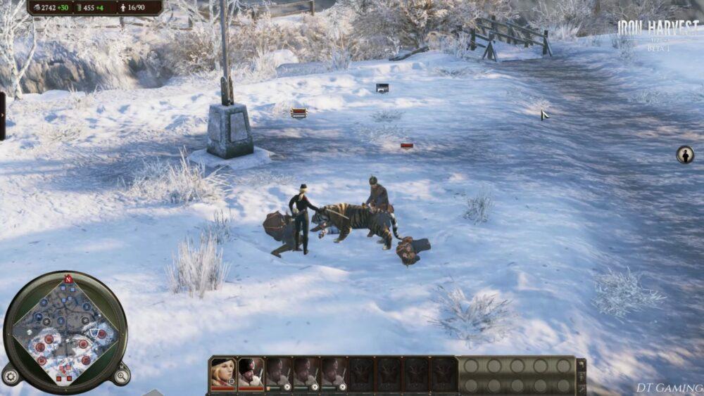 Новый геймплей ролик Iron Harvest