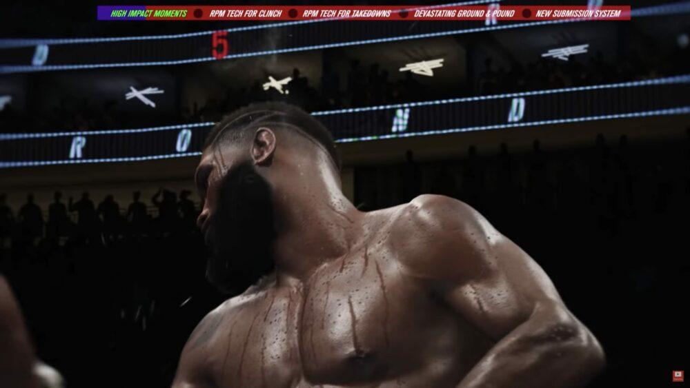 Свежий геймплей UFC 4