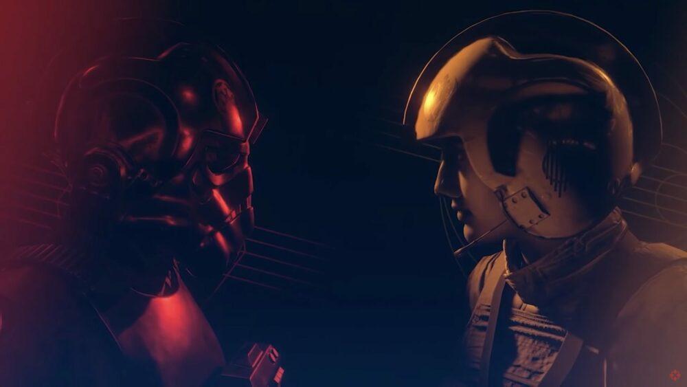 Куча геймплея Star Wars: Squadrons