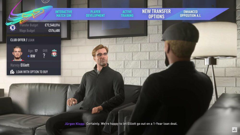 Новый трейлер FIFA 21 - карьера