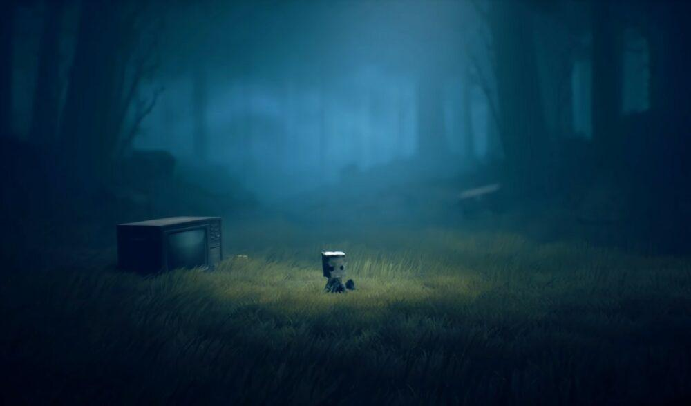 Стартовые минуты Little Nightmares 2