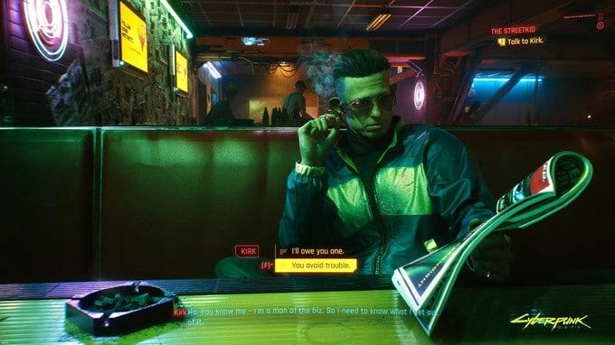 Детали Cyberpunk 2077 с Night City Wire