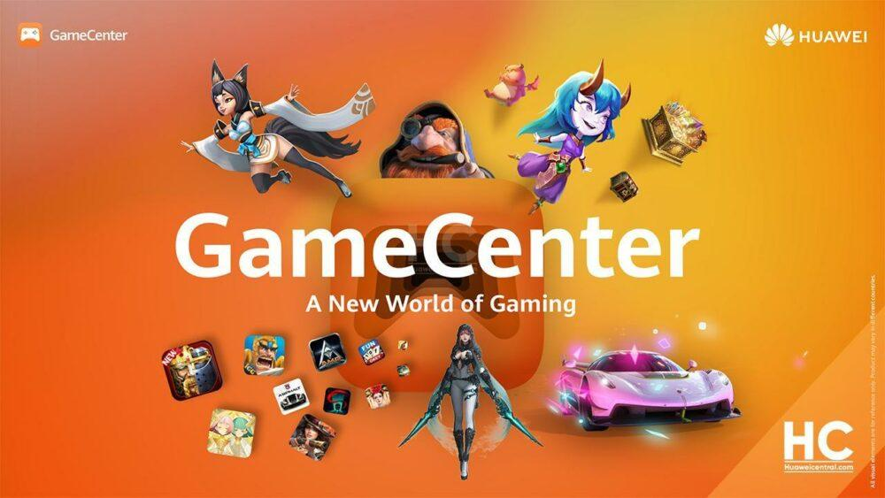 Huawei анонсировали GameCenter