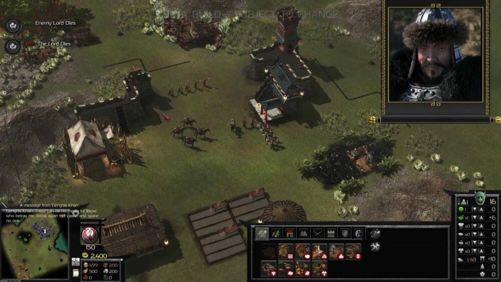 Свежий геймплей Stronghold: Warlords