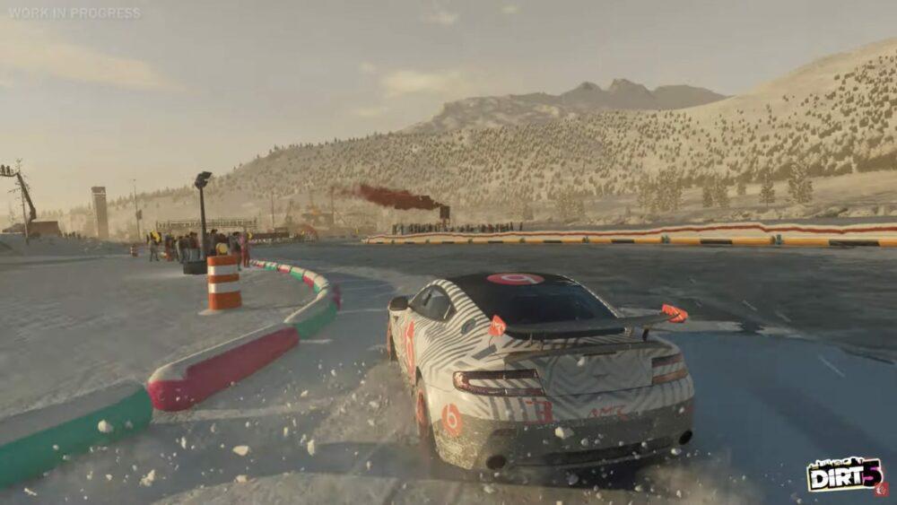 Снежные трассы - новый трейлер Dirt 5