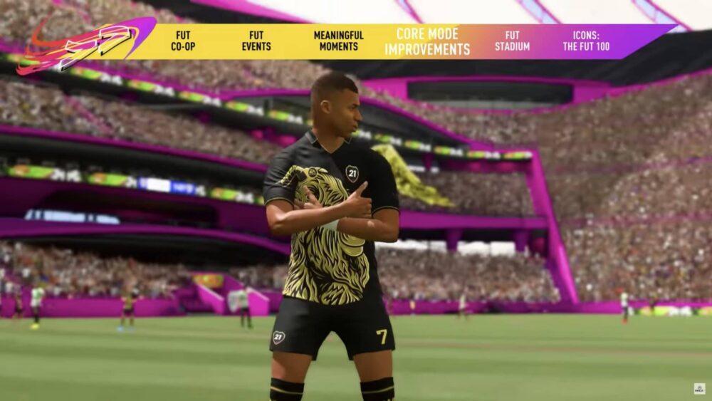 Новый трейлер FIFA 21
