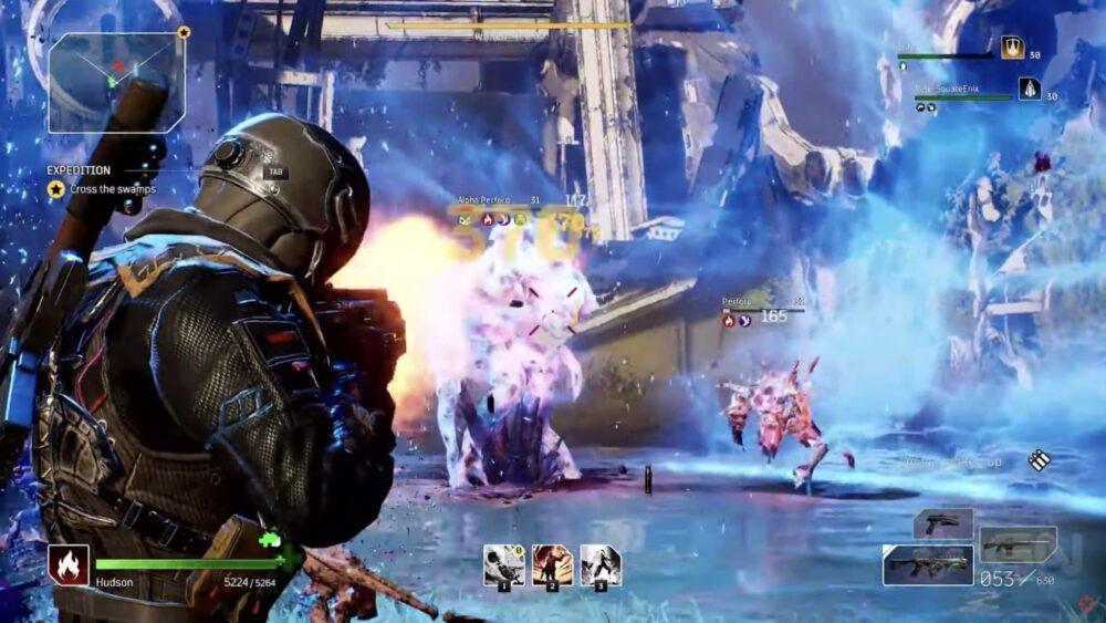Сопровождение конвоя в новом геймплее Outriders