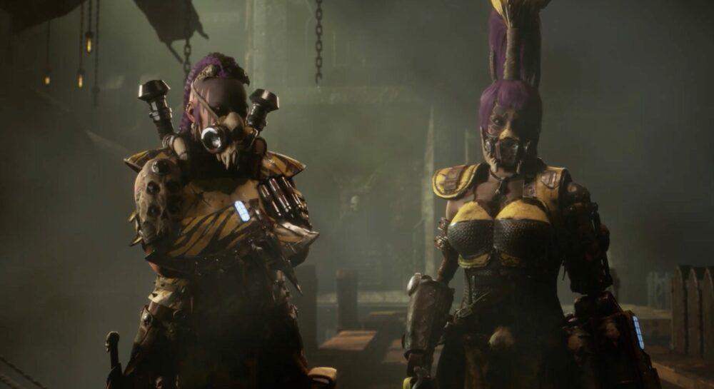 Геймплей трейлер Necromunda: Underhive Wars