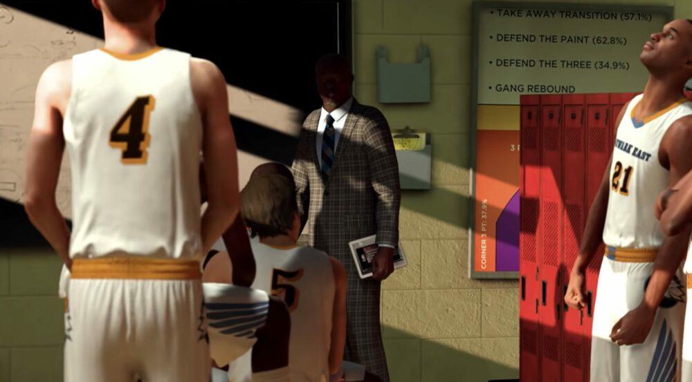 Свежий трейлер NBA 2K21