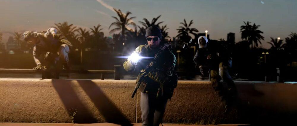 Куча геймплея Call of Duty: Black Ops Cold War
