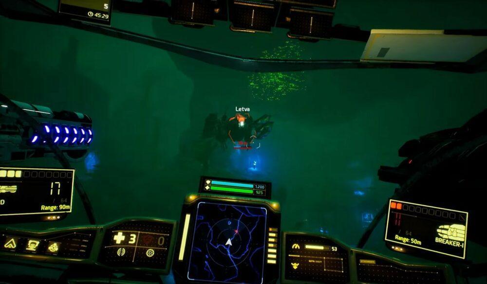 Свежий геймплей Aquanox Deep Descent