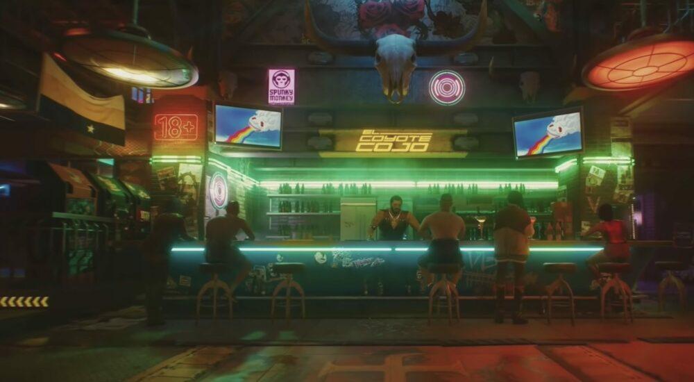 Трейлер Cyberpunk 2077 с презентации Nvidia