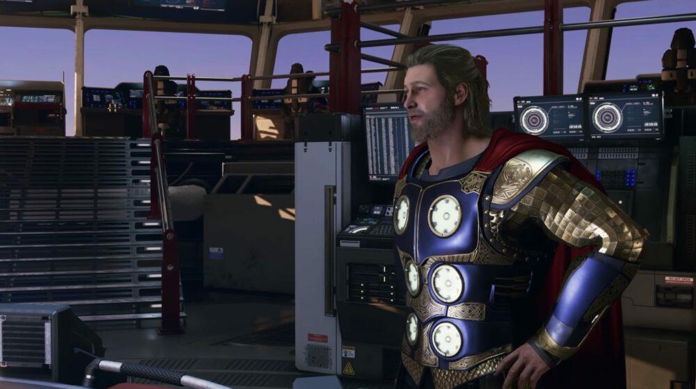 Тор - свежий геймплей Marvel's Avengers