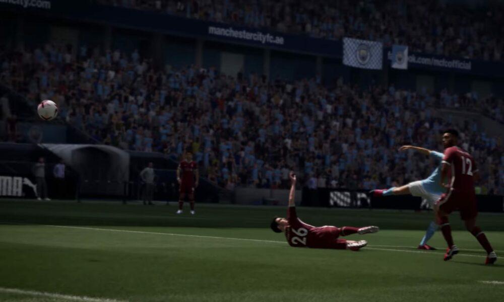 Геймплей FIFA 21 на PS4 Pro
