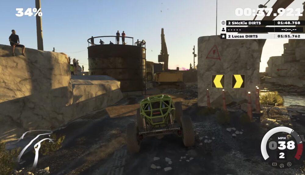 Свежий геймплей DIRT 5