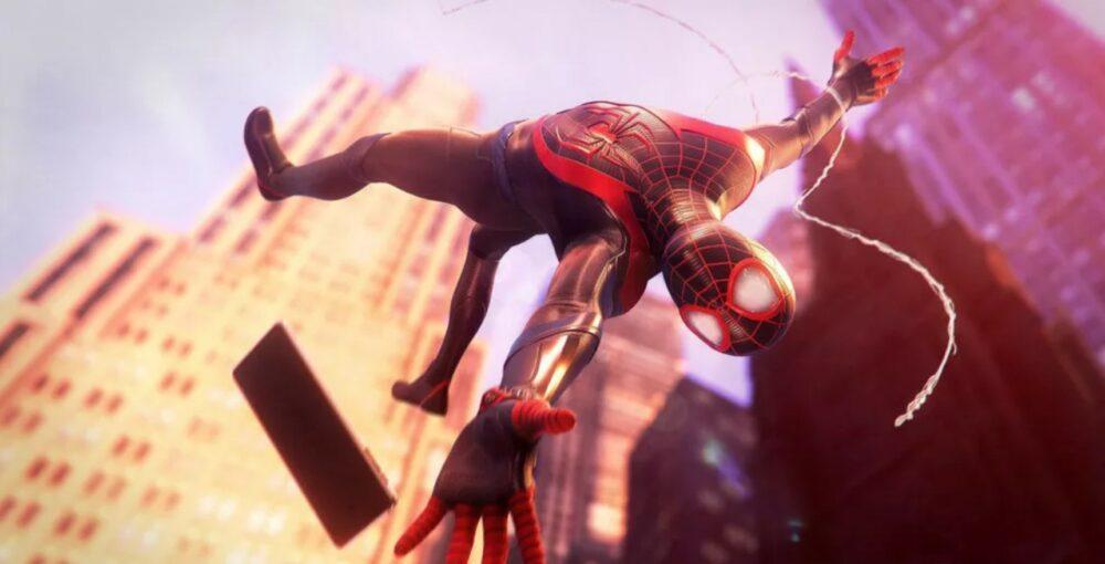 Свежий геймплей Spider-Man: Miles Morales