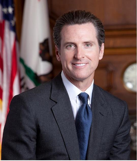 Губернатор Калифорнии Гэвин Ньюсом