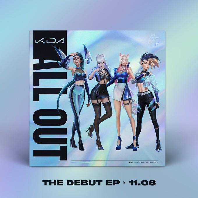 Премьера первого альбома K/DA состоится ноябре