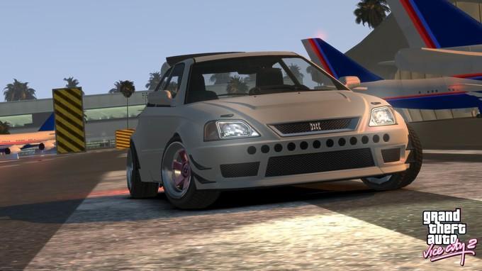 Геймплей ремейка GTA: Vice City от фанатов