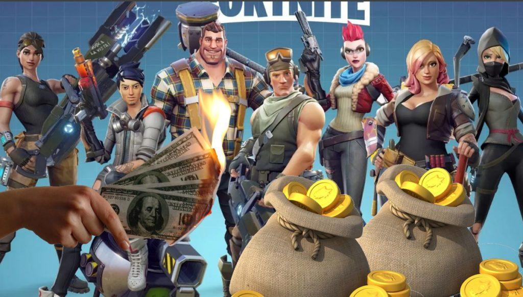 Fortnite делает деньги
