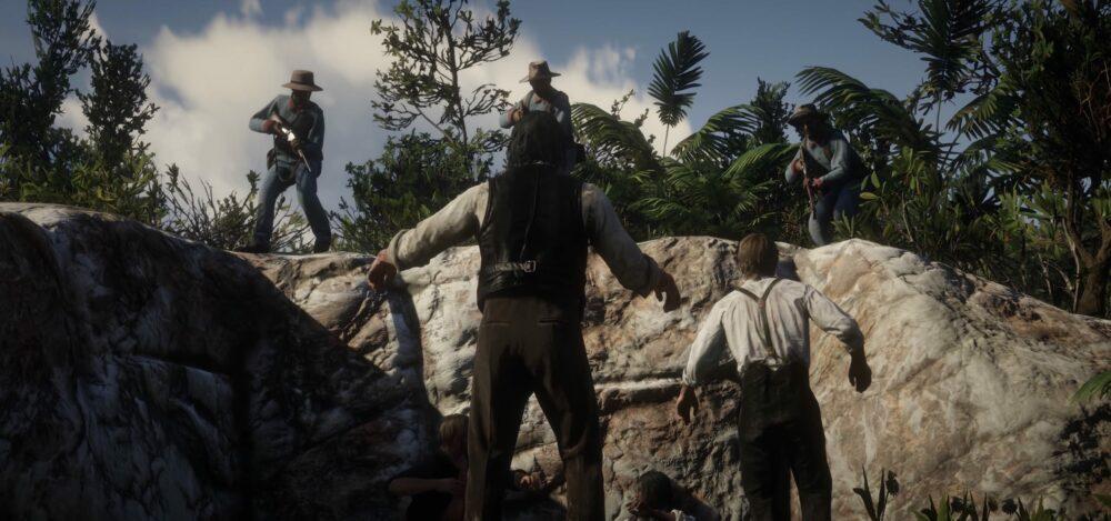 Red Dead Redemption 2 пал - игра взломана