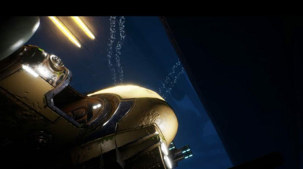 Кооператив в новом трейлере Aquanox Deep Descent
