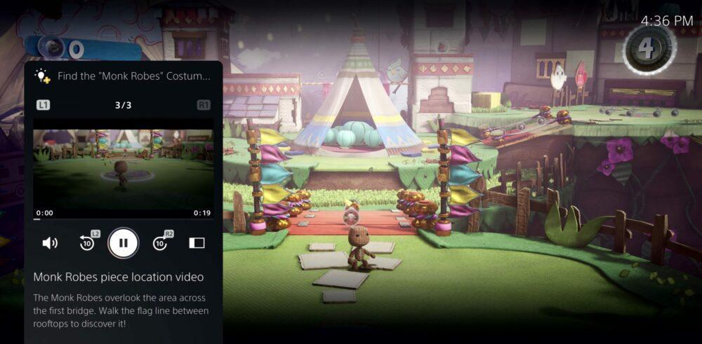 Представлен пользовательский интерфейс PS5