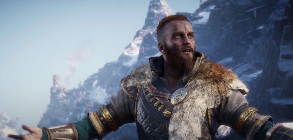 Куча геймплея Assassin's Creed Valhalla