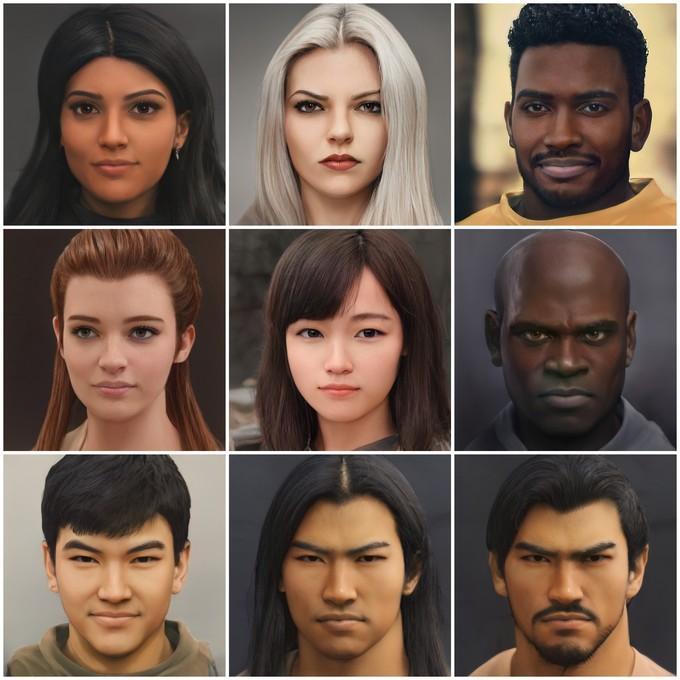 Герои Overwatch в виде настоящих людей