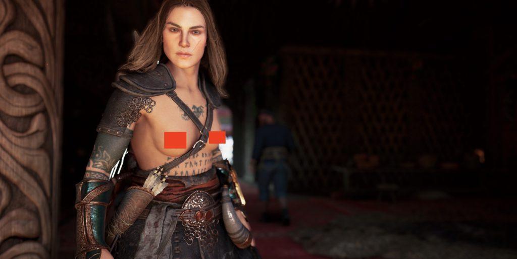 Голый мод Assassin's Creed Valhalla уже доступен