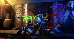 World of Cyberpunk - WoW в стиле Cyberpunk 2077