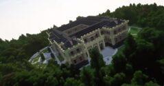 В Minecraft построили дворец Путина