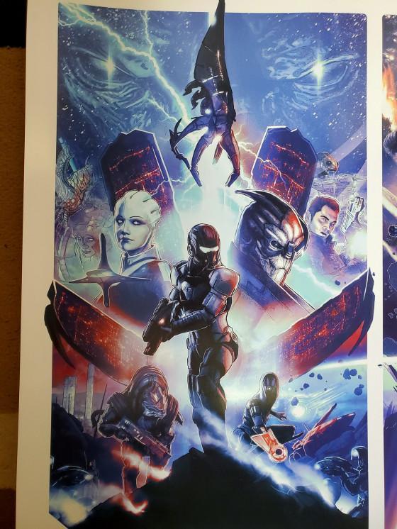 Постеры Mass Effect Legendary Edition